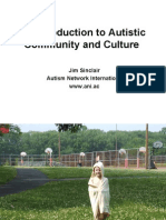 Autism Network International Webinar with Autism NOW April 14, 2011