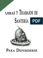 29224749 Obras y Trabajos de Santeria Para Defenderse