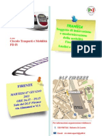 Iniziativa Tramvia 7 Giugno 2011 Programma