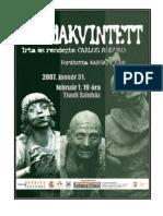 Dossier Csodakvintett 2010 in Spanish