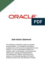 Oracle PLM Update Slide