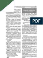 Directiva - Aplicaciòn de VMAs descargas de aguas residuales no domesticas en el Sistema Alcantarillado Sanitario
