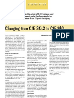 Changing From CIE30.2 to CIE140