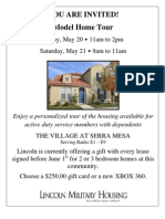 Military Housing Open House Invitation 52011