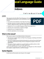 Delphi Object Pascal Language Guide
