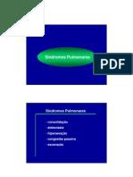 Síndromes Pulmonares