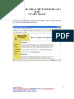 Manual Para Crear Ejecutables de Java