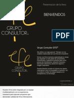 Grupo Consultor EFE - Presentación de la firma (versión mayo 2011)
