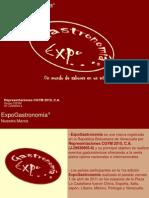 ExpoGastronomía - Portafolio Plaza La Castellana