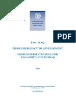 FAO-Iraq Strategy, Fadel El-Zubi