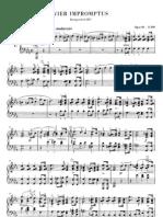 Schubert 4 Impromptus Op90 Henle