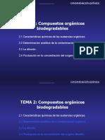 Tema 2 Comp Org Biodegradables