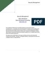 Security Management - S3CC