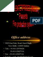 Eagle Enterprises fire sprinkler system