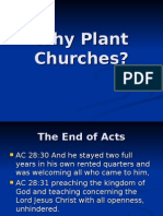 Why Plant Church