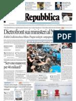 Quotidiani La Repubblica Del 25.Maggio Gratis !!!
