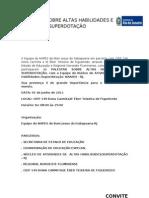 PALESTRA SOBRE ALTAS HABILIDADES E SUPERDOTAÇÃO - CONVITE (1)