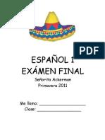 Span Final Exam
