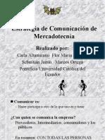 Estrategias de Comunicacion de Mercadotecnia
