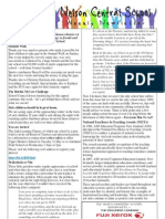 25th May 2011 Newsletter Web
