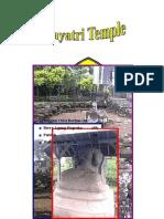 Gayatri Temple in Indonesia