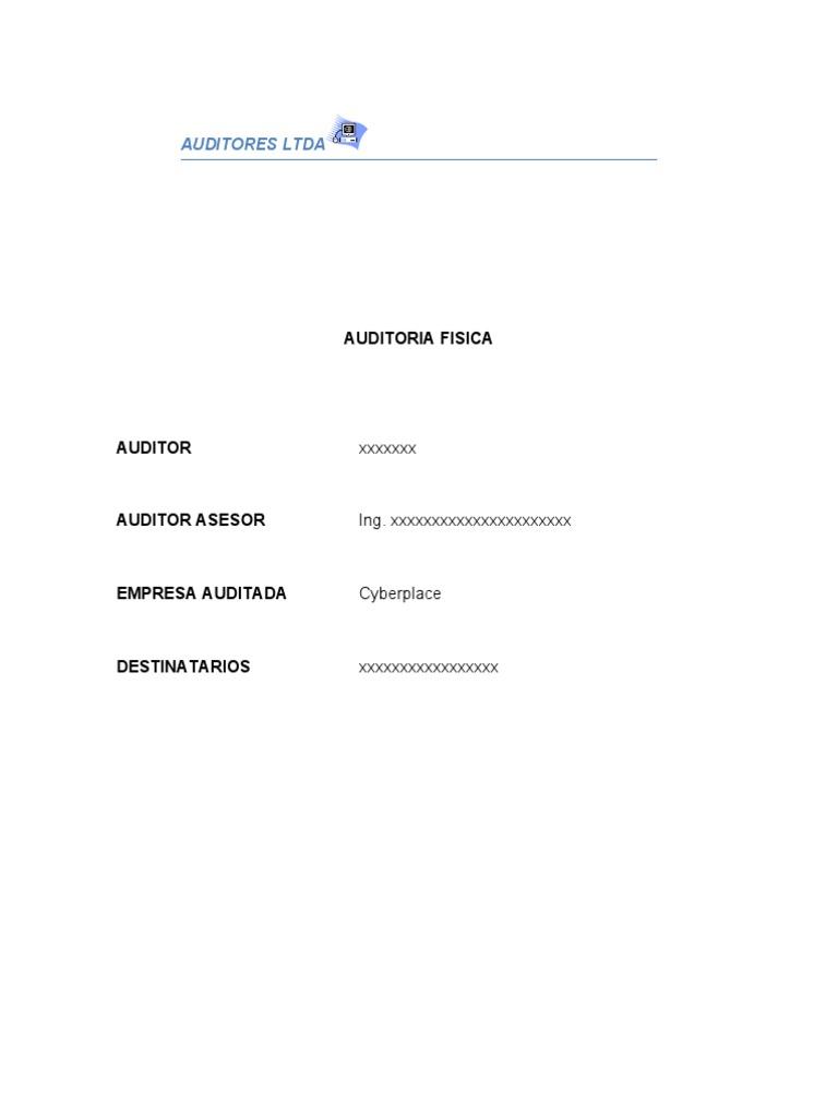 Mi Informe de Auditoria (2)[1] Nelly