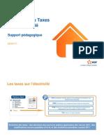 EDF - Evolution Des Taxes Sur Electricite
