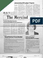 The Merciad, Feb. 13, 1981