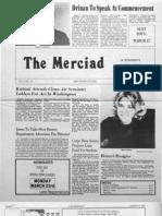The Merciad, March 6, 1981