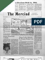 The Merciad, May 15, 1981