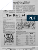 The Merciad, May 28, 1981
