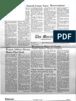 The Merciad, Nov. 13, 1981