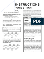 Inpeyote Stitch