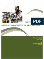 PAWA Annual Report 2009 - 2010