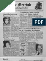 The Merciad, April 22, 1982