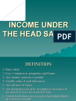 Salary Head