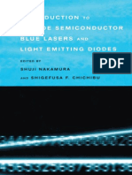 Introduction to Nitride Semiconductor Blue Lasers and Light Emitting Diodes 0748408363