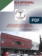 """Clinica Integral """"SISO""""-Médico Tercero Autorizado por la  S.C.T."""