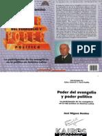 Poder Del Evangelio y Poder Politico - José Míguez Bonino
