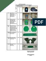 Spesifikasi Teknis Pakaian Kerja
