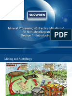 Mineral Processing for Non Mets Section 1 V1.2