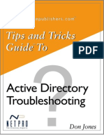 Tips and Tricks to Troubleshoot AD