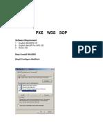 Pxe Wds Server Setup Sop
