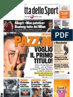 Gazzetta dello Sport - 25 Maggio 2011