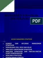 13121774 Manajemen Strategik Sektor Publik