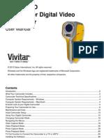 Vivitar 850HD Manual