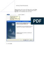 d2d Installation Procedure