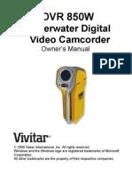 DVR850W User Manual