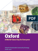 Oxford Sustainable Communities Strategy 2008 2012