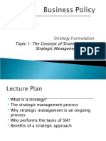 Strategic Mgt Process